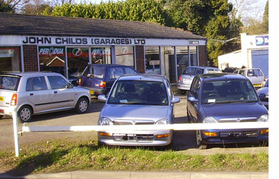 John Childs Garages, Perodua main dealer
